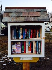 Little Free Library in South Royalston